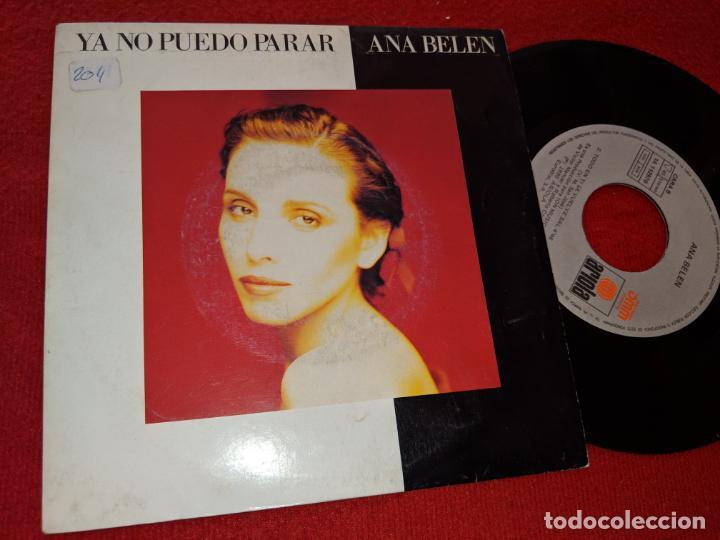 ANA BELEN YA NO PUEDO PARAR/TODO EN TI SE VUELVE SAL 7'' SINGLE 1989 ARIOLA (Música - Discos - Singles Vinilo - Solistas Españoles de los 70 a la actualidad)