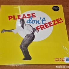 Discos de vinilo: PLEASE DON'T FREEZE VARIUS 2 LP VINYL+MP3 - EARLY BLACK R'N'R/ RHYTHM & BLUES * NUEVO*. Lote 160172510