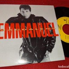 Discos de vinilo: EMMANUEL MAGDALENA 7'' SINGLE 1992 EPIC PROMO UNA CARA. Lote 160173134
