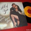 Discos de vinilo: JULIO IGLESIAS&DIANA ROSS ALL OF YOU/THE LAST TIME 7'' SINGLE 1984 CBS. Lote 160174622