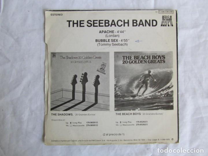 Discos de vinilo: The Seebach Band Especial Discjockey Apache Bubble sex - Foto 2 - 160174722