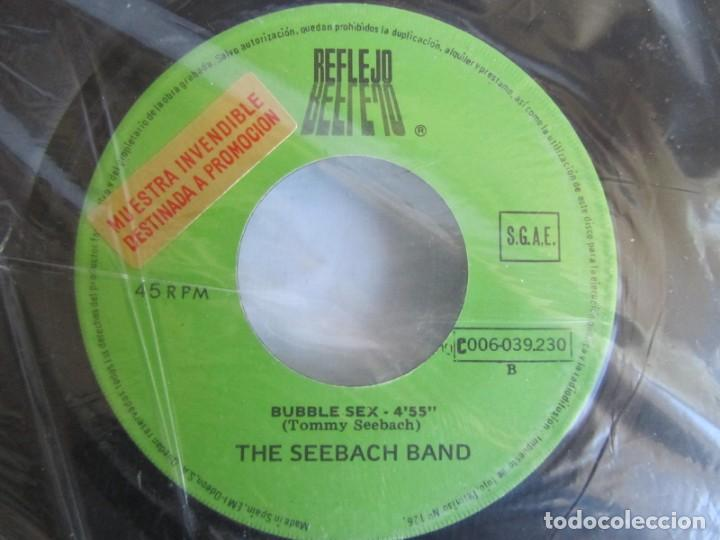 Discos de vinilo: The Seebach Band Especial Discjockey Apache Bubble sex - Foto 4 - 160174722