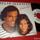 Discos de vinilo: JULIO IGLESIAS DE NIÑA A MUJER/Y PENSAR... 7'' SINGLE 1981 CBS PROMO. Lote 160175834