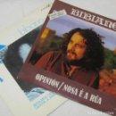 Discos de vinilo: 2 SINGLES DE BIBIANO ESTAMOS CHEGANDO O MAR, OPINION NOSA E A RUA. Lote 160175966
