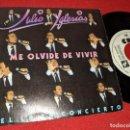 Discos de vinilo: JULIO IGLESIAS ME OLVIDE DE VIVIR 7'' SINGLE 1983 CBS PROMO UNA CARA. Lote 160176010