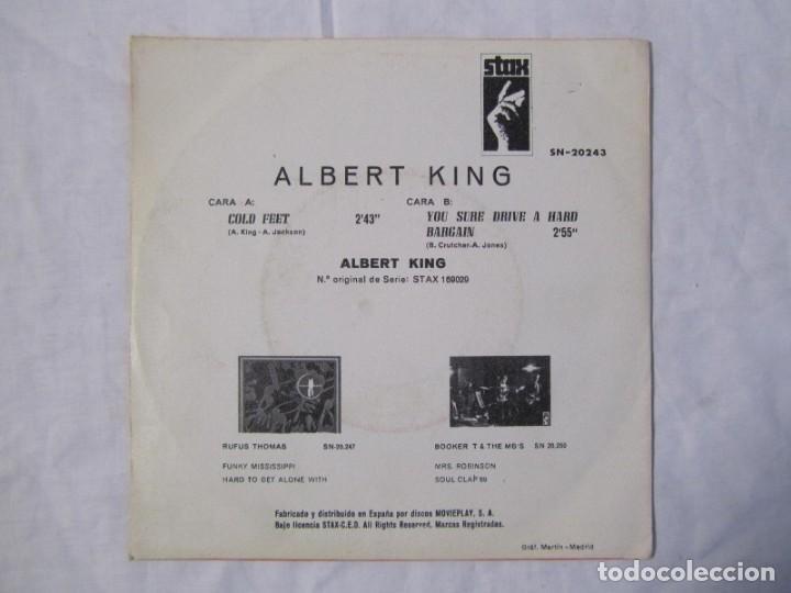 Discos de vinilo: Albert King, Cold feet, you sure drive a hard Bargain 1969 - Foto 2 - 160177818