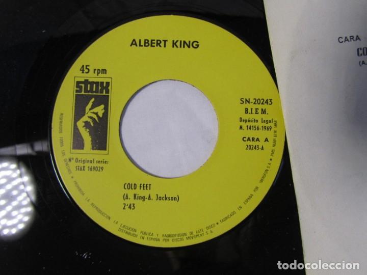 Discos de vinilo: Albert King, Cold feet, you sure drive a hard Bargain 1969 - Foto 4 - 160177818