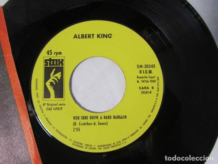 Discos de vinilo: Albert King, Cold feet, you sure drive a hard Bargain 1969 - Foto 5 - 160177818