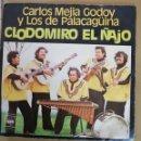 Discos de vinilo: CARLOS MEJIA GODOY Y LOS DE PALACAGUINA - CLODOMIRO EL ÑAJO. Lote 160179538