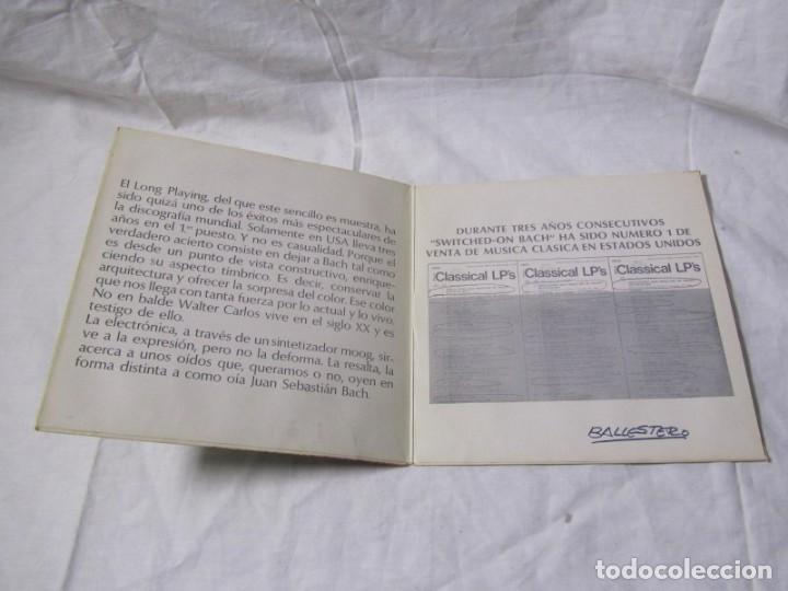 Discos de vinilo: Single vinilo Walter Carlos, Switched on Bach - Foto 3 - 160180106