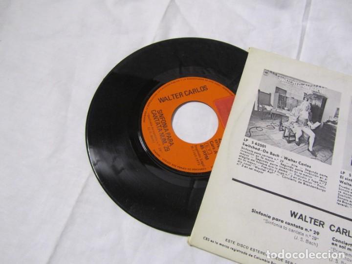 Discos de vinilo: Single vinilo Walter Carlos, Switched on Bach - Foto 4 - 160180106