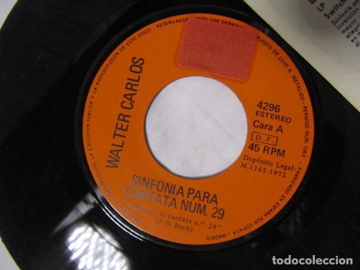 Discos de vinilo: Single vinilo Walter Carlos, Switched on Bach - Foto 5 - 160180106