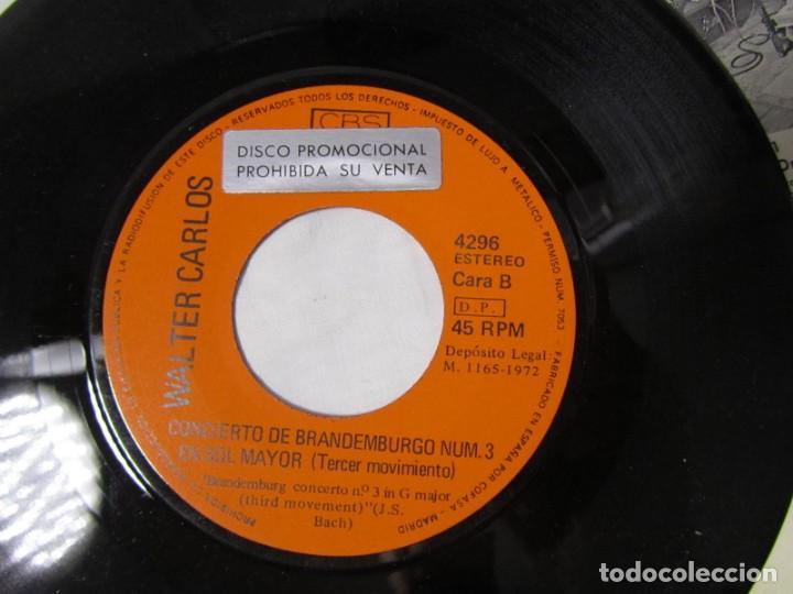Discos de vinilo: Single vinilo Walter Carlos, Switched on Bach - Foto 6 - 160180106