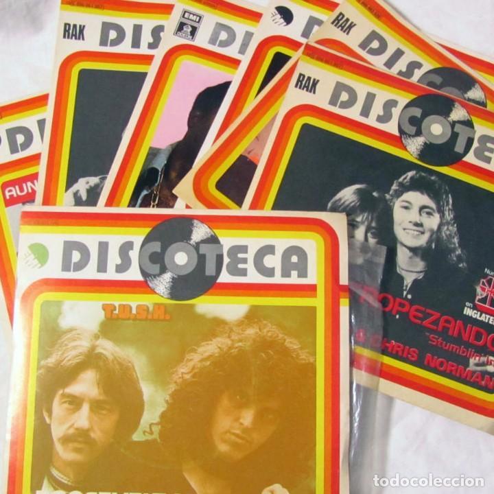 11 SINGLES DISCOTECA AÑOS 70. VER TÍTULOS EN FOTOS ADICIONALES (Música - Discos - Singles Vinilo - Disco y Dance)