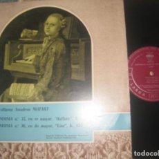 Discos de vinilo: MOZART AMADEUS WOLFGANG SINFONIA N35 Y 36 ( CID 1961 )OG ESPAÑA EXCELENTE CONDICION. Lote 160181502