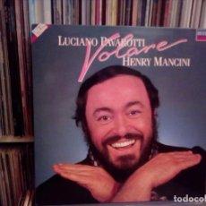 Discos de vinilo: LUCIANO PAVAROTTI & HENRY MANCINI - VOLARE - LP 1987. Lote 160188058