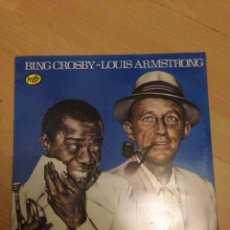 Discos de vinilo: BING CROSBY / LOUIS ARMSTRONG - BING CROSBY / LOUIS ARMSTRONG - LP. Lote 160188254