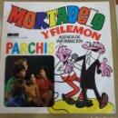 Discos de vinilo: PARCHÍS - MORTADELO Y FILEMON. VINILO AZUL. Lote 160204697