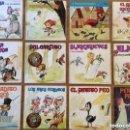 Discos de vinilo: SELECCION 12 DISCOS DE CUENTOS INFANTILES ANTIGUOS VINILO SINGLE. Lote 160215770