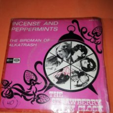 Discos de vinilo: THE STRAWBERRY ALARM CLOCK - INCENSE AND PEPPERMINTS - RARO - 1967 - ESPAÑA. Lote 160219338