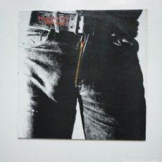 Discos de vinilo: THE ROLLING STONES. - STICKY FINGERS. LP. TDKLP. Lote 160227402