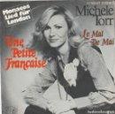 Discos de vinilo: 45 GIRI MICHELE TORR UNE PETITE FRAÇAISE MONACOS LIED FUR LONDON 1977. Lote 160229934