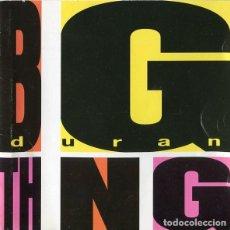 Discos de vinilo: DURAN DURAN – BIG THING - LP SPAIN 1988. Lote 160231518