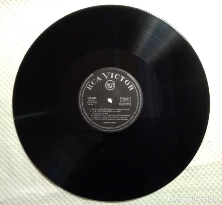 Discos de vinilo: CARLOS GARDEL SU MAJESTAD... EL TANGO - El día que me quieras- RCA 1965 - Foto 3 - 160232994