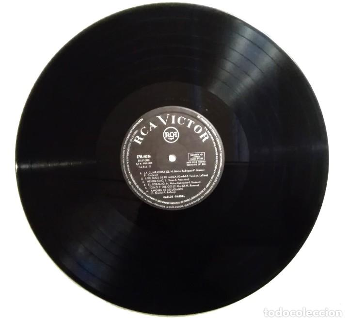 Discos de vinilo: CARLOS GARDEL SU MAJESTAD... EL TANGO - El día que me quieras- RCA 1965 - Foto 4 - 160232994