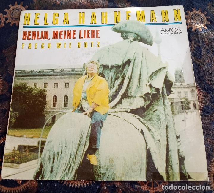 HELGA HAHNEMANN.BERLIN, MEINE LIEBE.1987. (Música - Discos - Singles Vinilo - Pop - Rock - Extranjero de los 70)