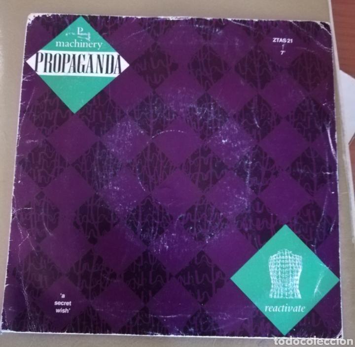 PROPAGANDA - MACHINERY (Música - Discos - Singles Vinilo - Electrónica, Avantgarde y Experimental)