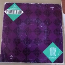 Disques de vinyle: PROPAGANDA - MACHINERY. Lote 160247893