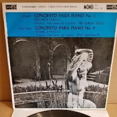 Discos de vinilo: CHOPIN / SAINT SAENS / CONCIERTOS PARA PIANO / LP - ACE OF CLUBS-1961 / MBC. ***/***. Lote 160256062