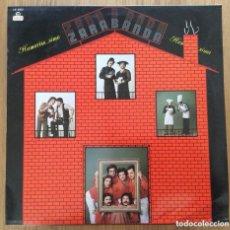 Discos de vinilo: ZARABANDA LP DISCOS FUSION AUTOGRAFIADO. BIEN CONSERVADO. Lote 160268326