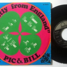Discos de vinilo: PILL & BILL - IT´S NOT YOU - EP 1967 - FONTANA. Lote 160271378