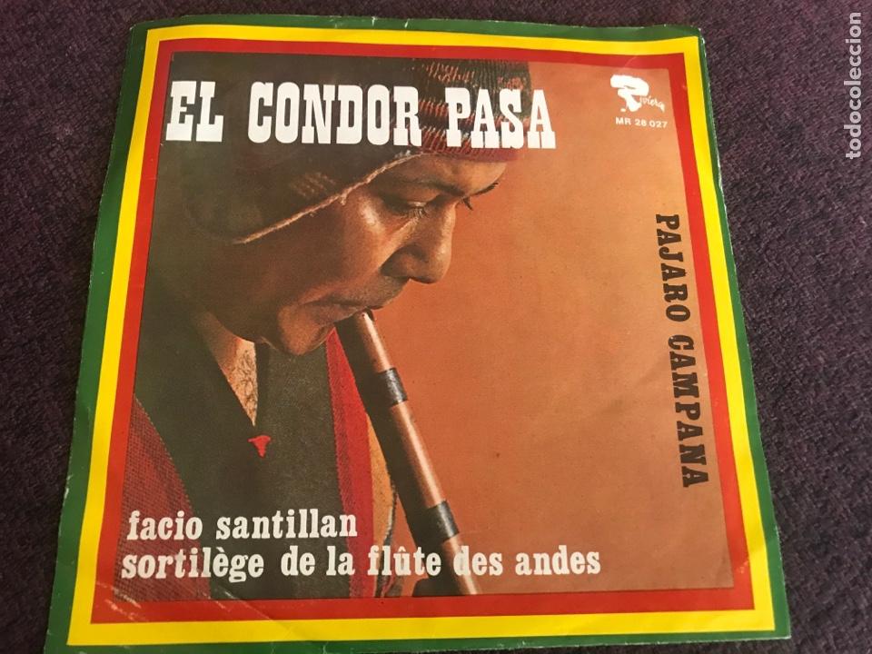 FACIO SANTILLAN SORTILEGE DE LA FLUTE DES ANDES RIVIERA EDICIÓN ALEMANA (Música - Discos - Singles Vinilo - Grupos y Solistas de latinoamérica)