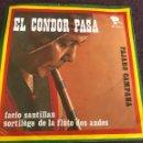 Discos de vinilo: FACIO SANTILLAN SORTILEGE DE LA FLUTE DES ANDES RIVIERA EDICIÓN ALEMANA. Lote 160271453