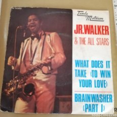 Discos de vinilo: JR. WALKER & THE ALL STARS - WHAT DOES IT TAKE (TO WIN YOUR LOVE). Lote 160274158