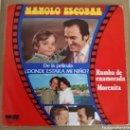 Discos de vinilo: MANOLO ESCOBAR - RUMBA DE ENAMORADA. Lote 160276000