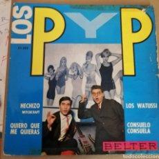 Discos de vinilo: LOS P Y P - LOS WATUSSI + 3. Lote 160278589