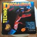Discos de vinilo: VV.AA. - TECHNO DINOSAURIUS - LP DOBLE BLANCO Y NEGRO 1993. Lote 160281702