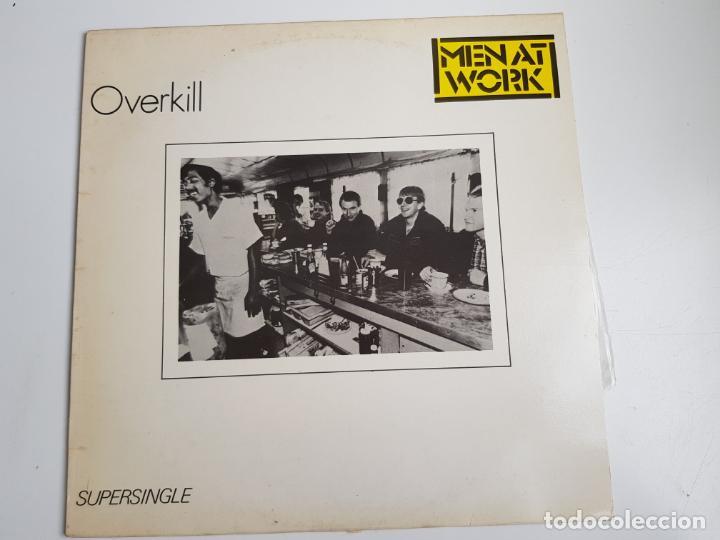 MEN AT WORK - OVERKILL (VINILO) (Música - Discos de Vinilo - Maxi Singles - Electrónica, Avantgarde y Experimental)