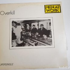 Discos de vinilo: MEN AT WORK - OVERKILL (VINILO). Lote 160282614