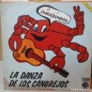 Discos de vinilo: SINGLE / CENTOLLOS POWER / LA DANZA DE LOS CANGREJOS - VIEJO LOBO DE MAR / NOVOLA NOX-216 / 1974. Lote 160290358