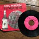 Discos de vinilo: MÚSICA DE BAILE MIGUEL RAMOS. DISCO SORPRESA FUNDADOR. Lote 160293642