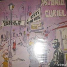 Discos de vinilo: ANTONIO CURIEL HISTORIAS DE CAMALEONES Y OTROS BICHOS RAROS ( FONOGRAFICA 83)O G ESPAÑA BLUES PUNK. Lote 160298446