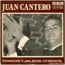 Discos de vinilo: JUAN CANTERO, GUITARRA SABICAS - TANGOS Y JALEOS GITANOS - SG SPAIN 1974 - RCA VICTOR SPBO 2230 . Lote 160298978