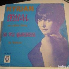 Discos de vinilo: MYRIAM / MIMI / SI TU QUIERES / YA SABES BIEN + 1 (EP 1969). Lote 160300582