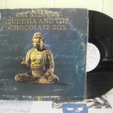 Discos de vinilo: CAT STEVENS BUDDHA AND THE CHOCOLATE BOX LP SPAIN 1974 PDELUXE. Lote 160304374