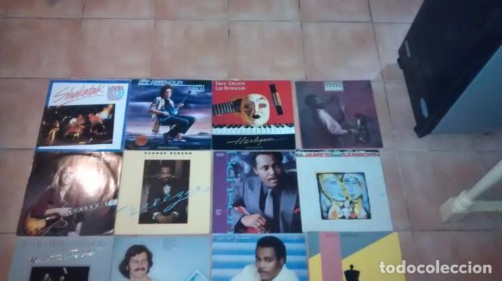 Discos de vinilo: Lote de 20 vinilos Jazz Fusion Funk Rock - Foto 2 - 160306078